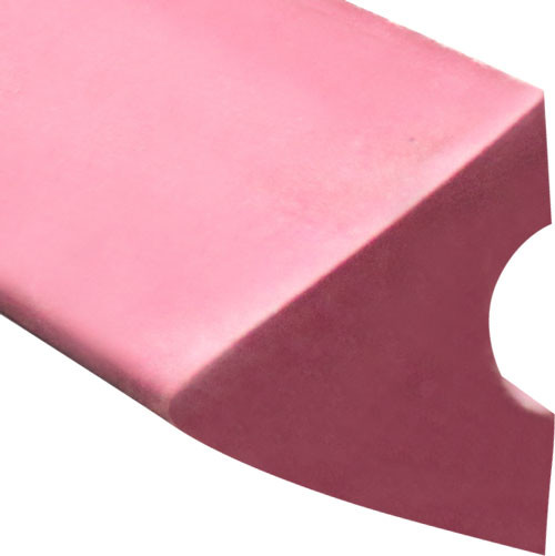 K66 Rubber Bumpers Replacement Pool Table Rail Cushions (Set of 6) - 9 Foot