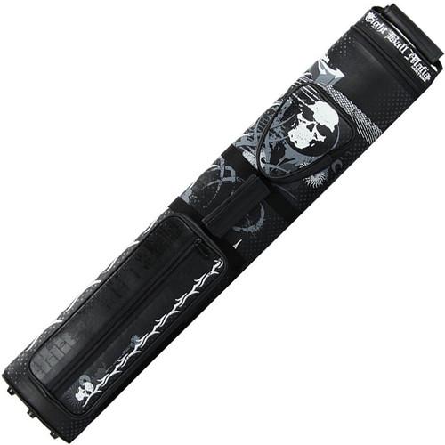 Action Cue Cases - Eight Ball Mafia Cue Cases - 3B/5S - EBMC35A - Black