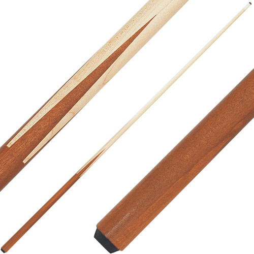 Economy One Piece Maple One Piece House Cue - 48in