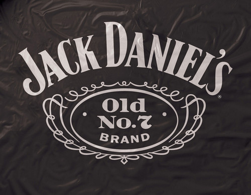 Jack Daniel's Black Vinyl Pool Table Cover