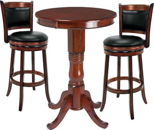 Ram Pub Table Set 3 Piece Chestnut