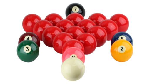 "Aramith Numbered Snooker Ball Set - 2 1/4"""