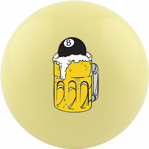 Custom Cue Ball - 8 Ball Beer