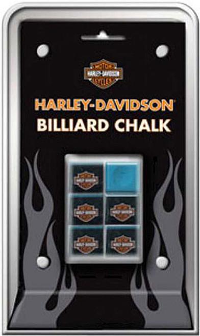 Harley-Davidson Billiards Chalk - 6 Piece Pack