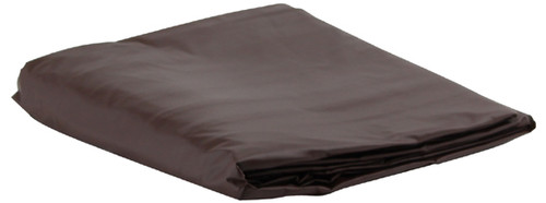 Brown Vinyl Pool Table Cover - 9 Foot