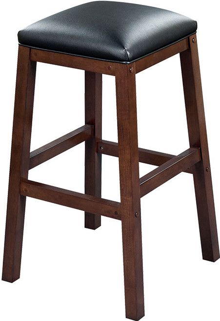 """Heritage Collection 30"""" Backless Barstool - Black Cherry"""