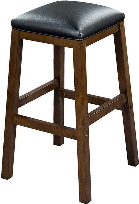 "Heritage Collection 30"" Backless Barstool - Nutmeg"