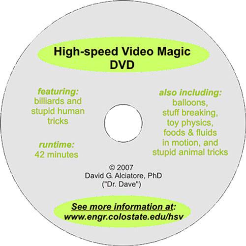 High-Speed Video Magic DVD