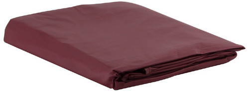 Burgundy Vinyl Pool Table Cover - 8 Foot