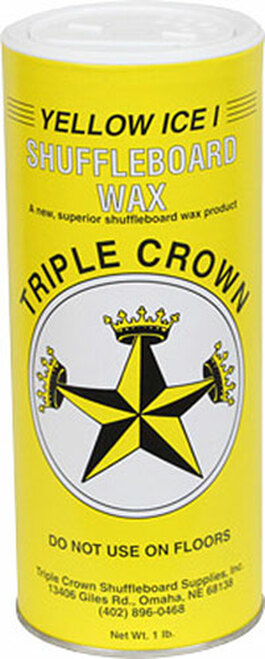 Triple Crown Shuffleboard Wax - Yellow Ice 1