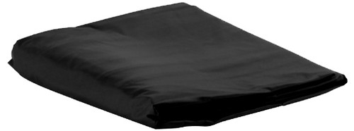 Black Vinyl Pool Table Cover - 8 Foot