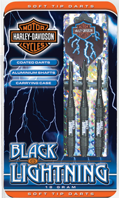 Harley Davidson Black Light 18 grams Soft Tip Darts