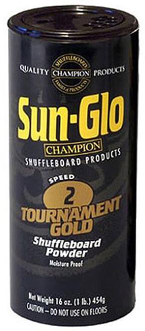 Sun Glo Shuffleboard Powder - Speed 2 - Tournament Gold
