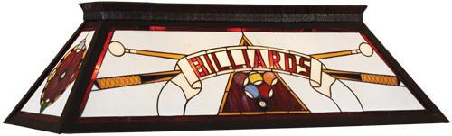 Billiards Pool Table Light - Red