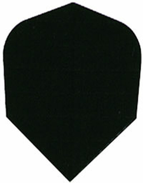 Nylon 160 Micron Thick Standard Flights - Black
