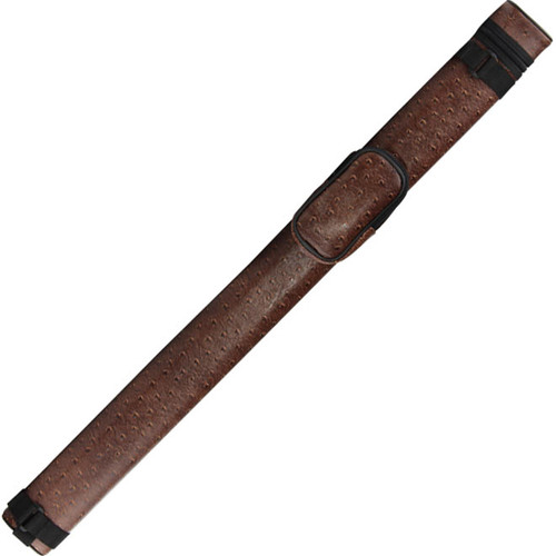 Ozone Pool Cue Case - Tube 1 Butt/1 Shaft - Brown