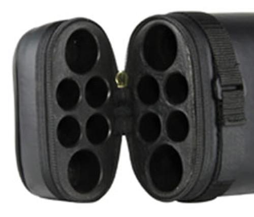 Ozone Pool Cue Case Tube 2 Butt 4 Shaft Black Ozone