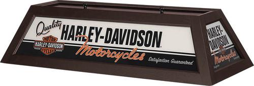 Harley-Davidson Pool Table Light - Brown Finish