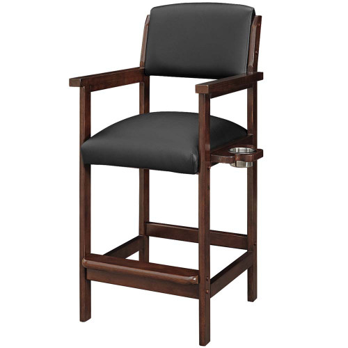 Ram Gameroom Spectator Chair Bar Stool Cappuccino