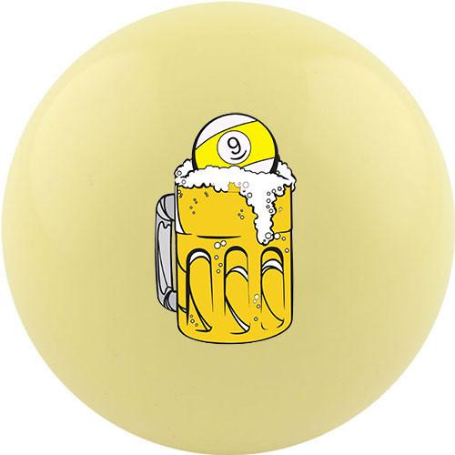 Custom Cue Ball - 9 Ball Beer