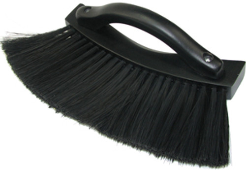 "Handled Pool Table Rail Brush - 9"" - Black"