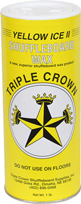 Triple Crown Shuffleboard Wax - Yellow Ice 2