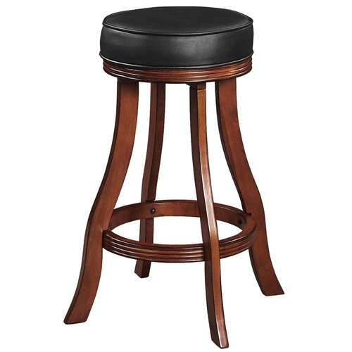Ram Gameroom Backless Bar Stool Chestnut