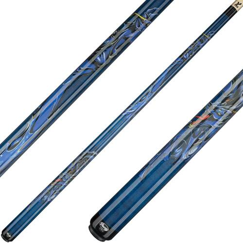 Viking Cues Blue Dragon Ocean Blue Stain