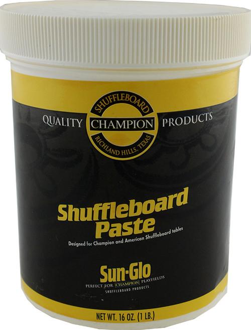 Sun Glo Shuffleboard Paste Wax - 1lb