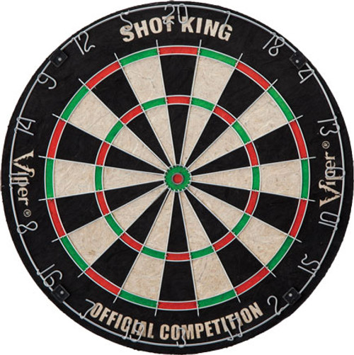 Viper Dartboard - Shot King Bristle Dartboard