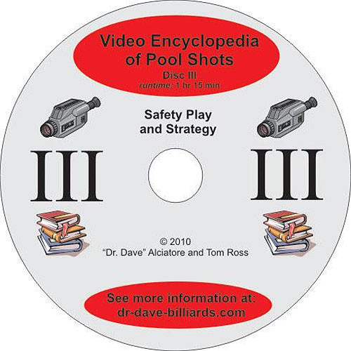 Video Encyclopedia of Pool Shots - Safety Play and Strategy - Disc 3