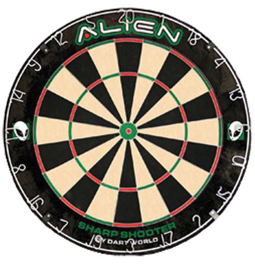 Steel Tip Dartboard - Alien Sharpshooter Practice DartBoard