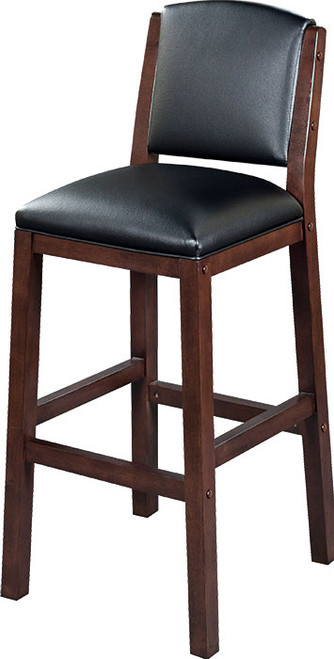 "Heritage Collection 30"" Backed Barstool - Black Cherry"