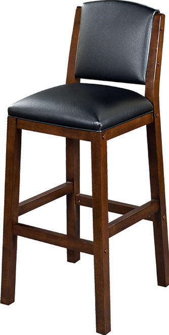 "Heritage Collection 30"" Backed Barstool - Port"