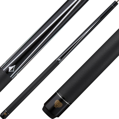 Viper cue- Diamond-black finish
