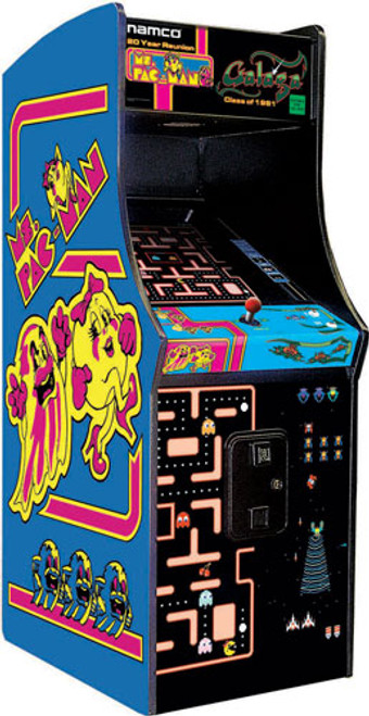 Ms PacMan and Galaga Arcade Game - 25th Anniversary Edition