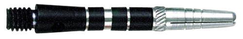 Top Spin Short Dart Shafts Grooved - Black