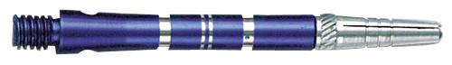 Top Spin Medium Dart Shafts Grooved - Blue