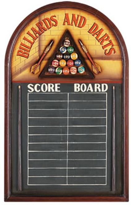 Billiards And Darts Scoreboard
