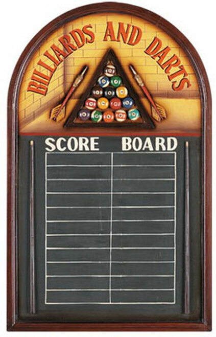 Billiards And Darts Scoreboard