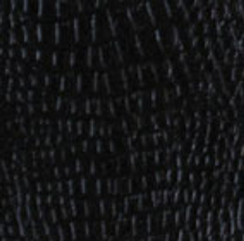 Black Leather Wrap - Gator