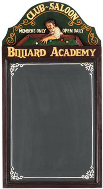 Billiard Academy 3D Sign