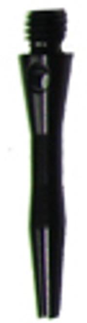 Aluminum Dart Shafts - Xtra Short - Black - Set of 3