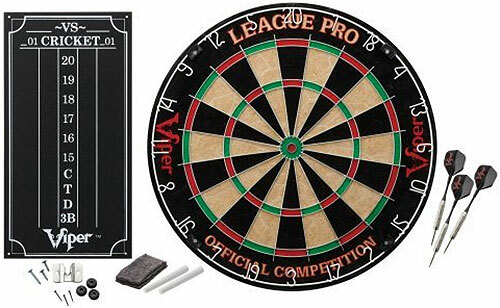 Viper Dartboard Steel Tip - League Pro Set