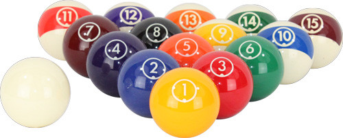 Aramith Continental Pool Balls