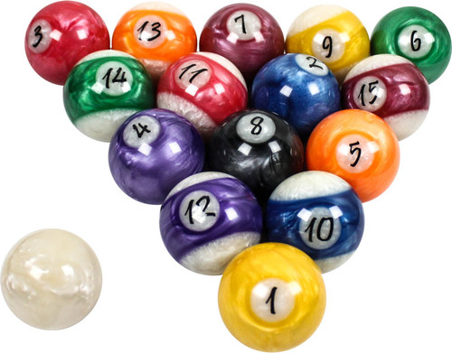 Pro Series Kandy Pearl Ball Set