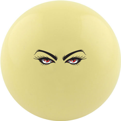 Custom Cue Ball - Red Eyes