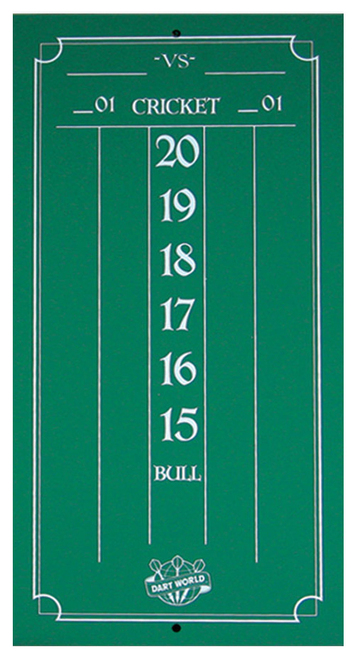Cricketeer Mini Chalk Scoreboard - Green