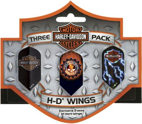 Harley Davidson Wings Slim 3 Pack