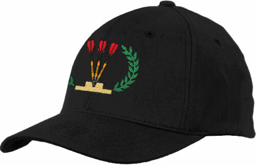 Ozone Billiards Dart Ivy League Hat - Black - Free Personalization